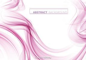 Zusammenfassung rosa Rauch Vektor Hintergrund