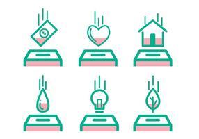 Bezahlte Icon-Set