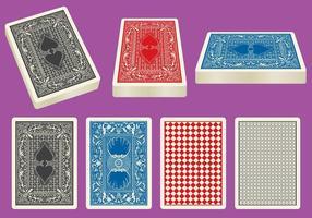 Kartendeck Vektoren