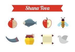 Gratis Shana Tova Vector