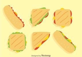Sandwichvektor vektor