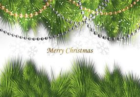 Gratis god jul dekoration vektor