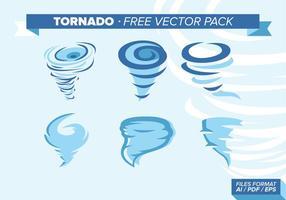 Tornado Illustrationer Gratis Vector Pack