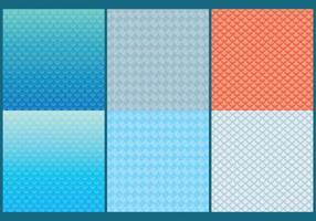 Fisch-Skala-Muster vektor