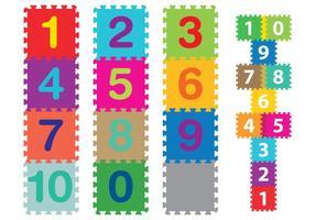 Färgglada mattor för barn vektor