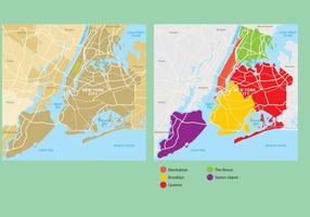 New york city map vektor