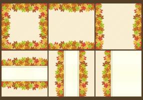 Thanksgiving Frames und Vorlagen