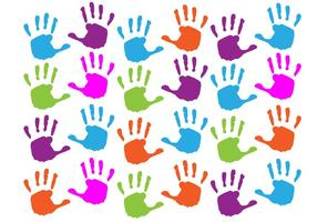 GRATIS BABY HAND PRINT VECTOR