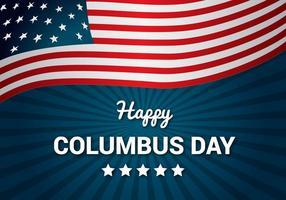 Kostenloser Columbus Day Vector