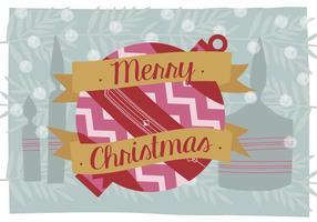 Frohe Weihnachten Vektor Hintergrund