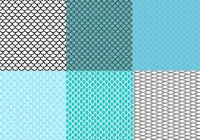 Free Fish Scale Pattern Vektor