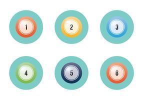 Gratis Lotto Bollar Vektor Illustration