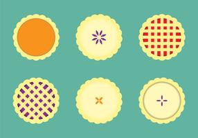 Kostenlose Apfelkuchen Vektor-Illustration