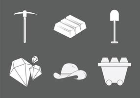 Free Gold Mine Vektor-Illustration vektor