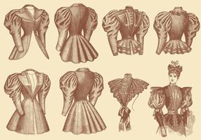 Alte Stil Kleidung