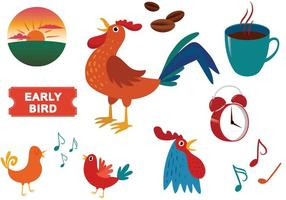 Kostenlose Early Bird Vectors