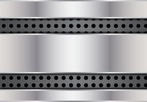 Gratis abstrakt metallvektor vektor
