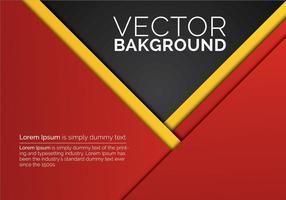 Abstrakt Red Paper Hintergrund Vektor