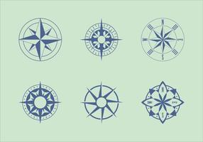 Klassiska Nautical Chart Vectors