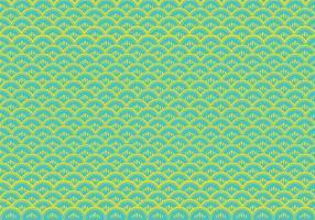 Fisch-Skala Muster Vektor