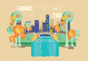 Central park vektor