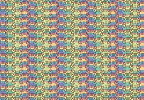 Free Fish Scale Pattern Vektor Hintergrund