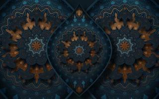 dekorativ bakgrund med dekorativa element