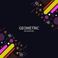 geometrisk rambakgrund vektor