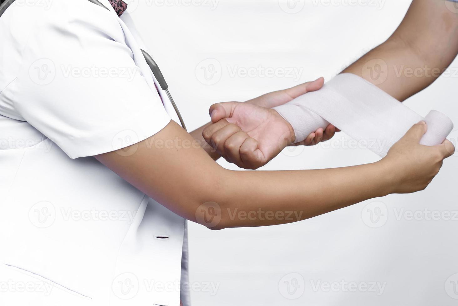 concept médical bandage. photo