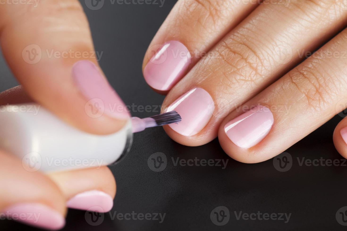 ongles peinture photo