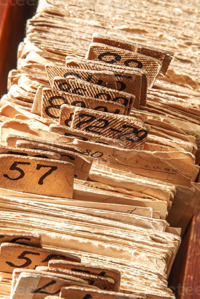 dossiers de fichiers d'archives photo