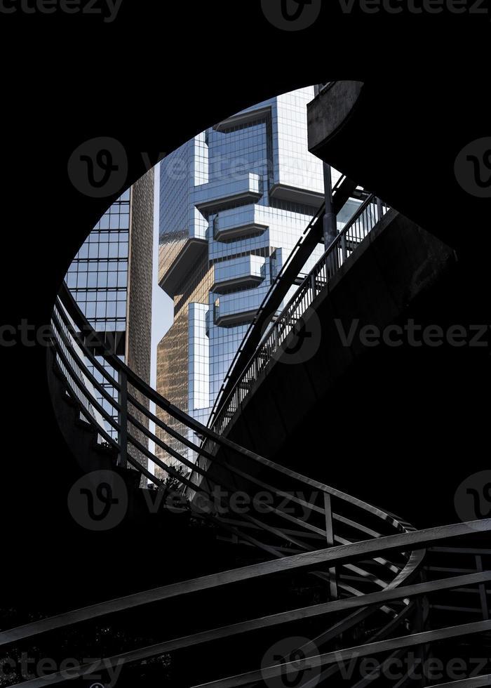 architecture de Hong Kong photo
