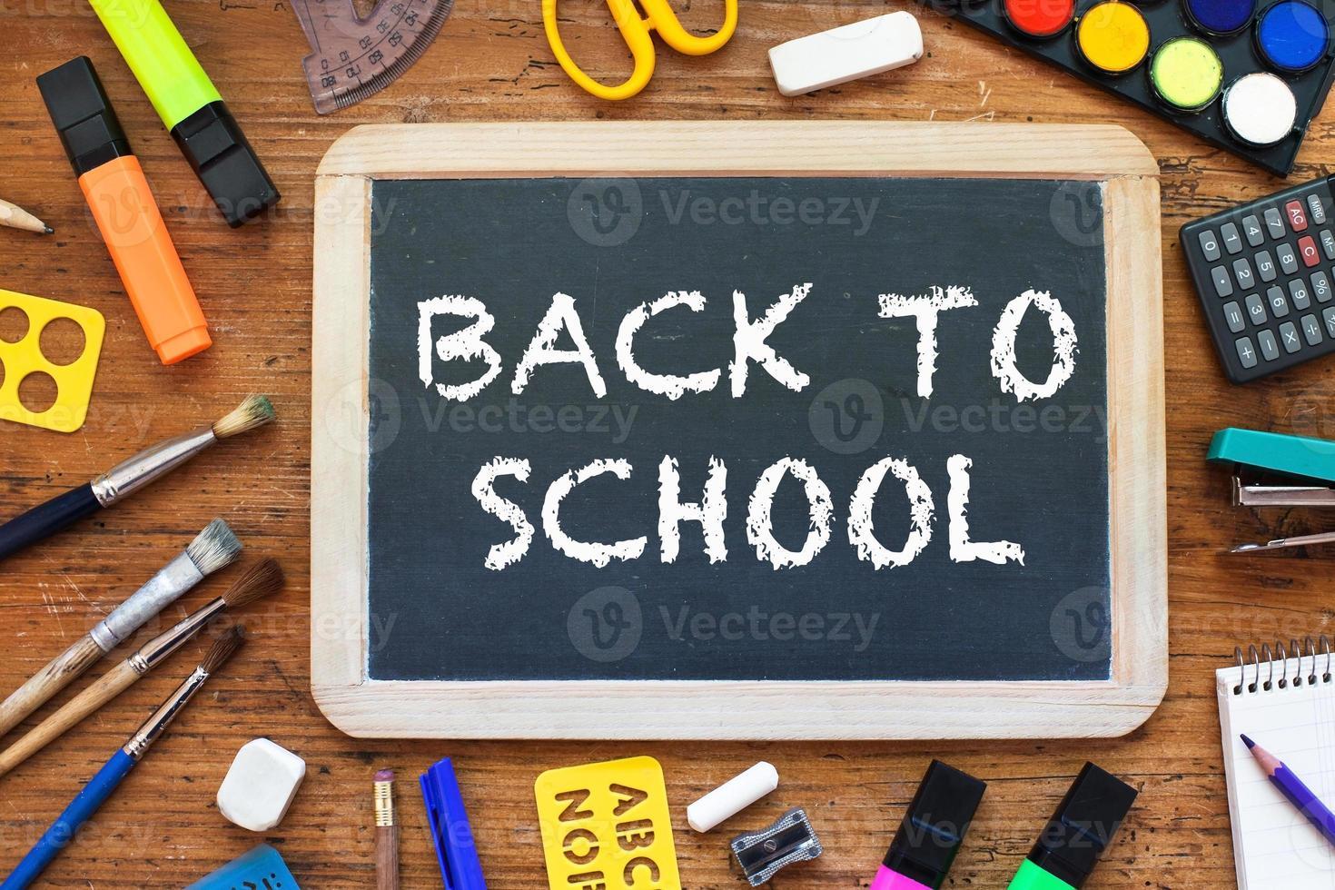 retour à l'école photo