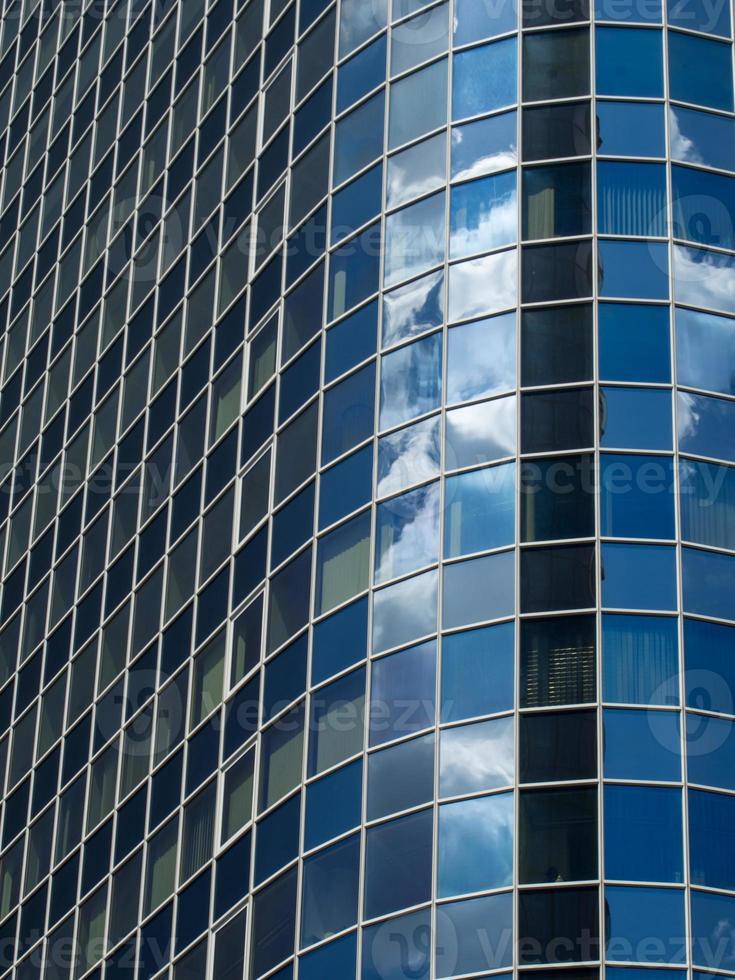 gratte-ciel dans le quartier financier de francfort, allemagne photo