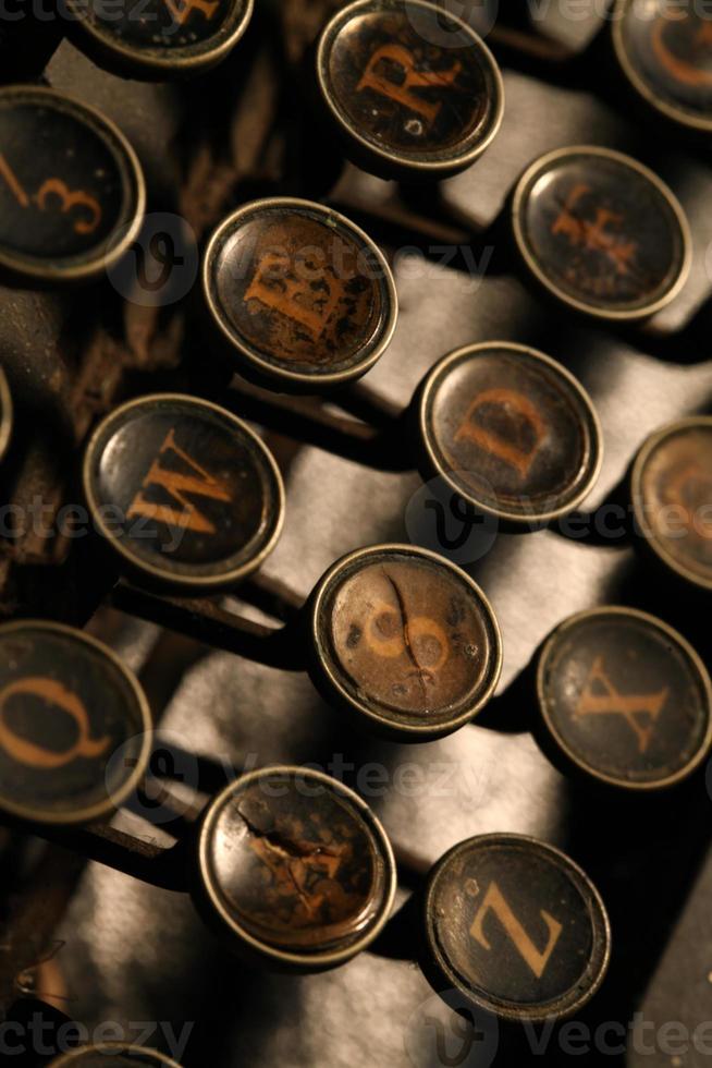 machine à écrire photo