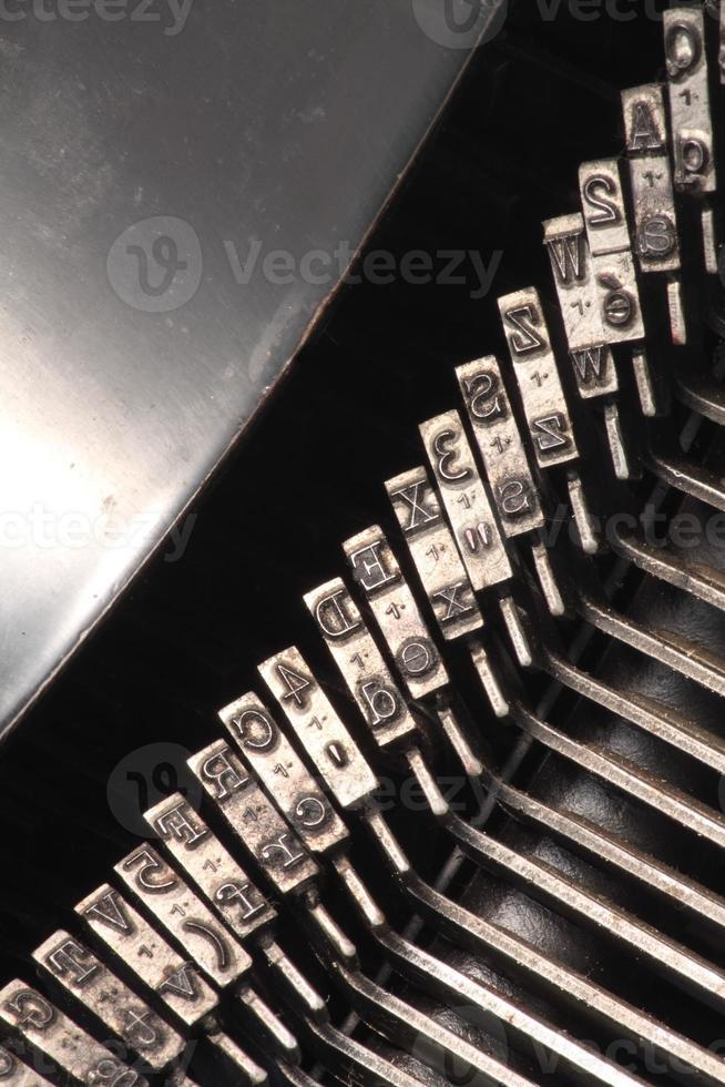 lettres de machine à écrire photo