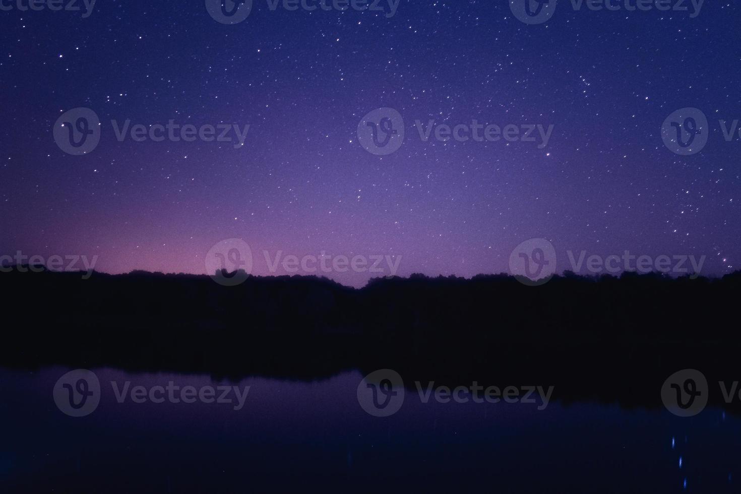 étoiles dans l'espace photo