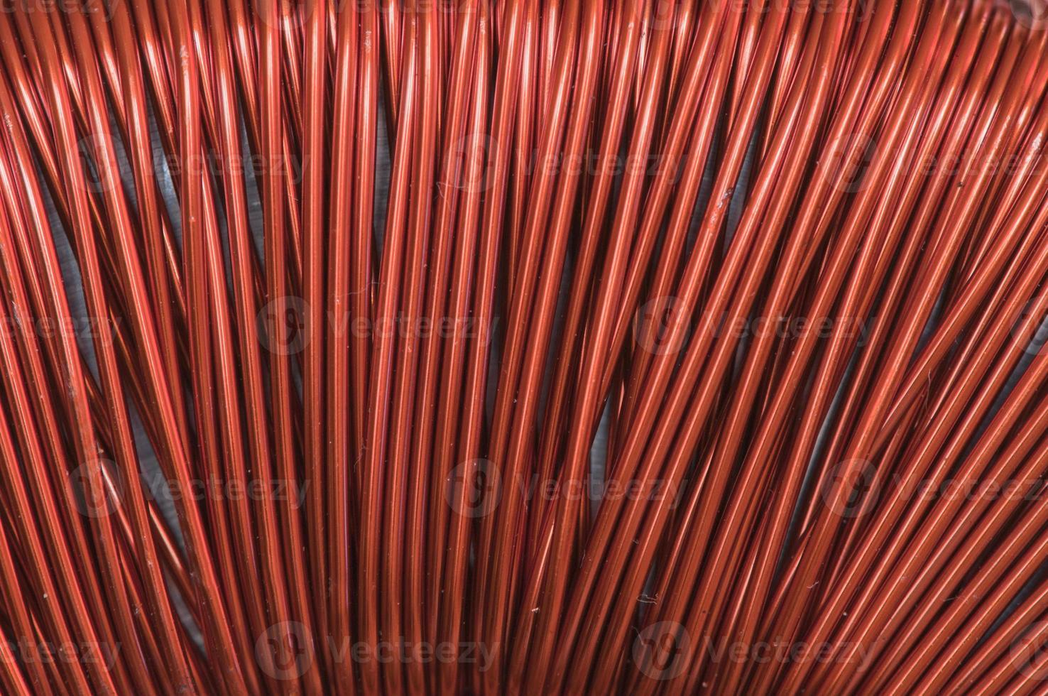 fil de cuivre photo