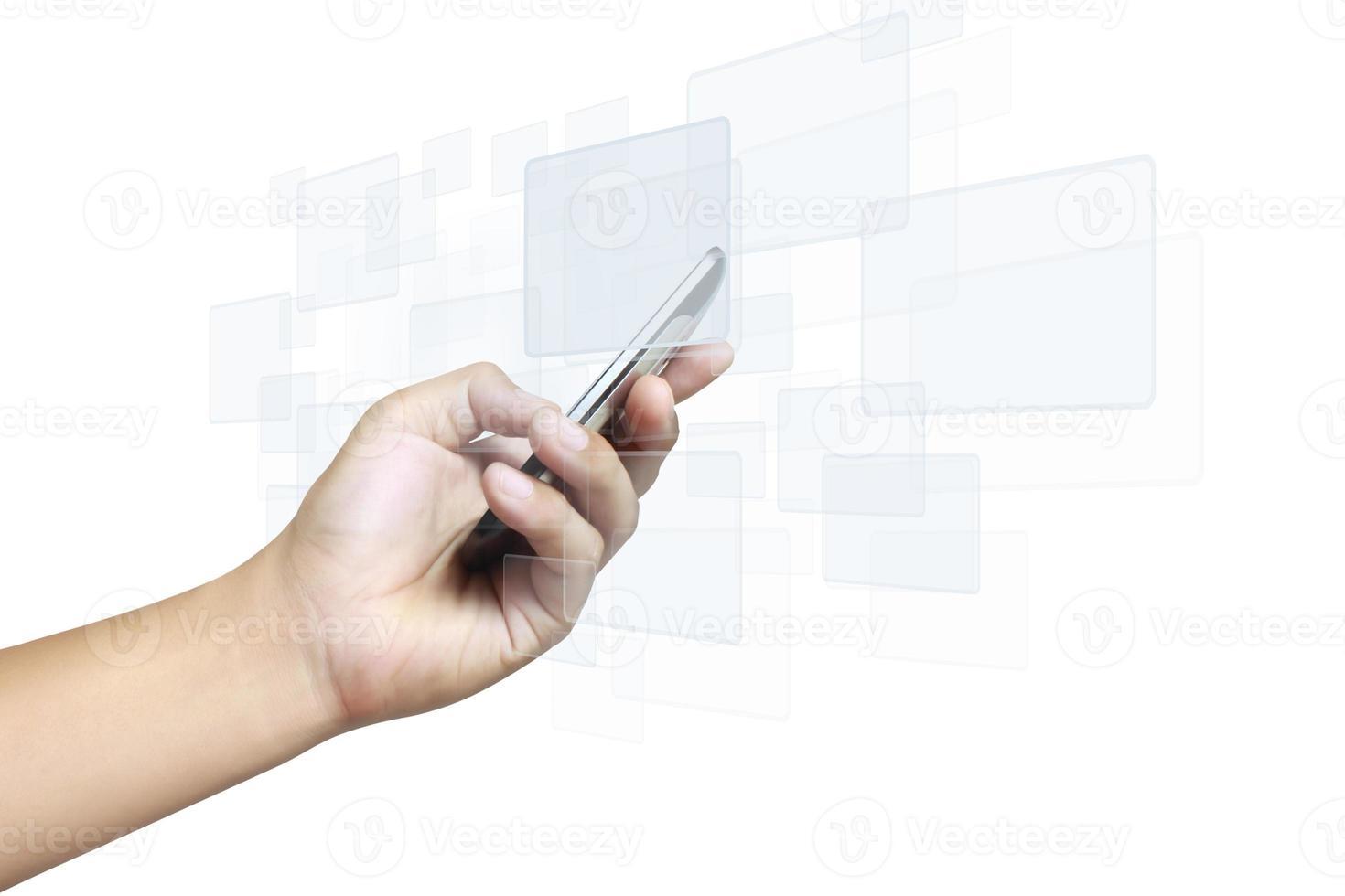 téléphone mobile à écran tactile photo