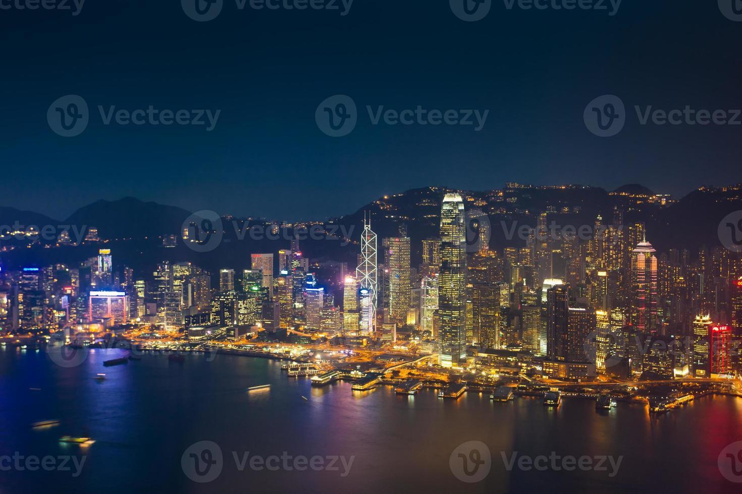 Skyline de Hong Kong. Chine. photo