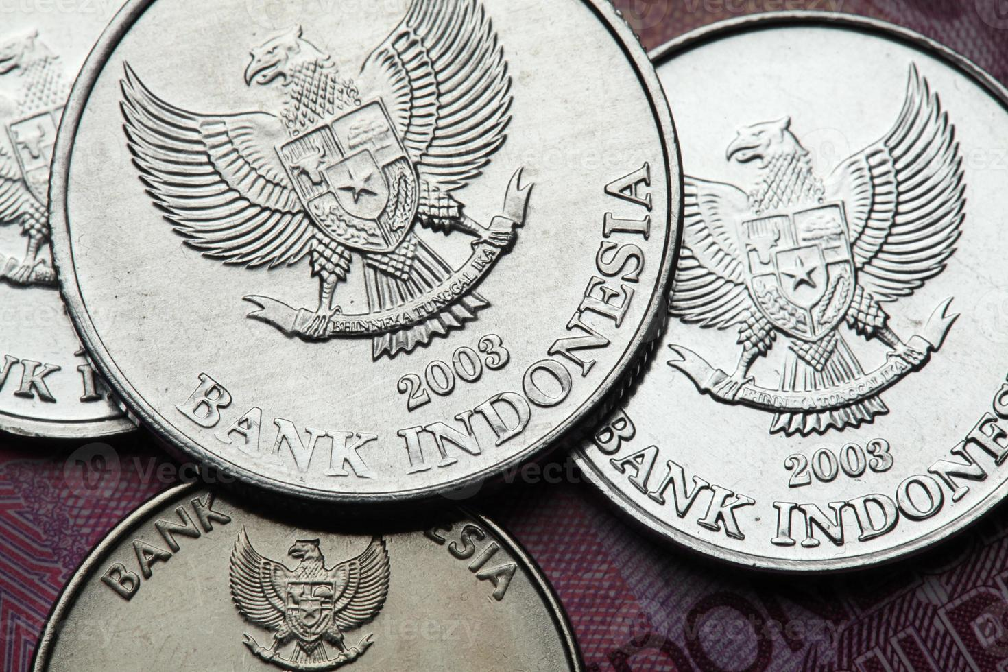 pièces d'indonésie photo