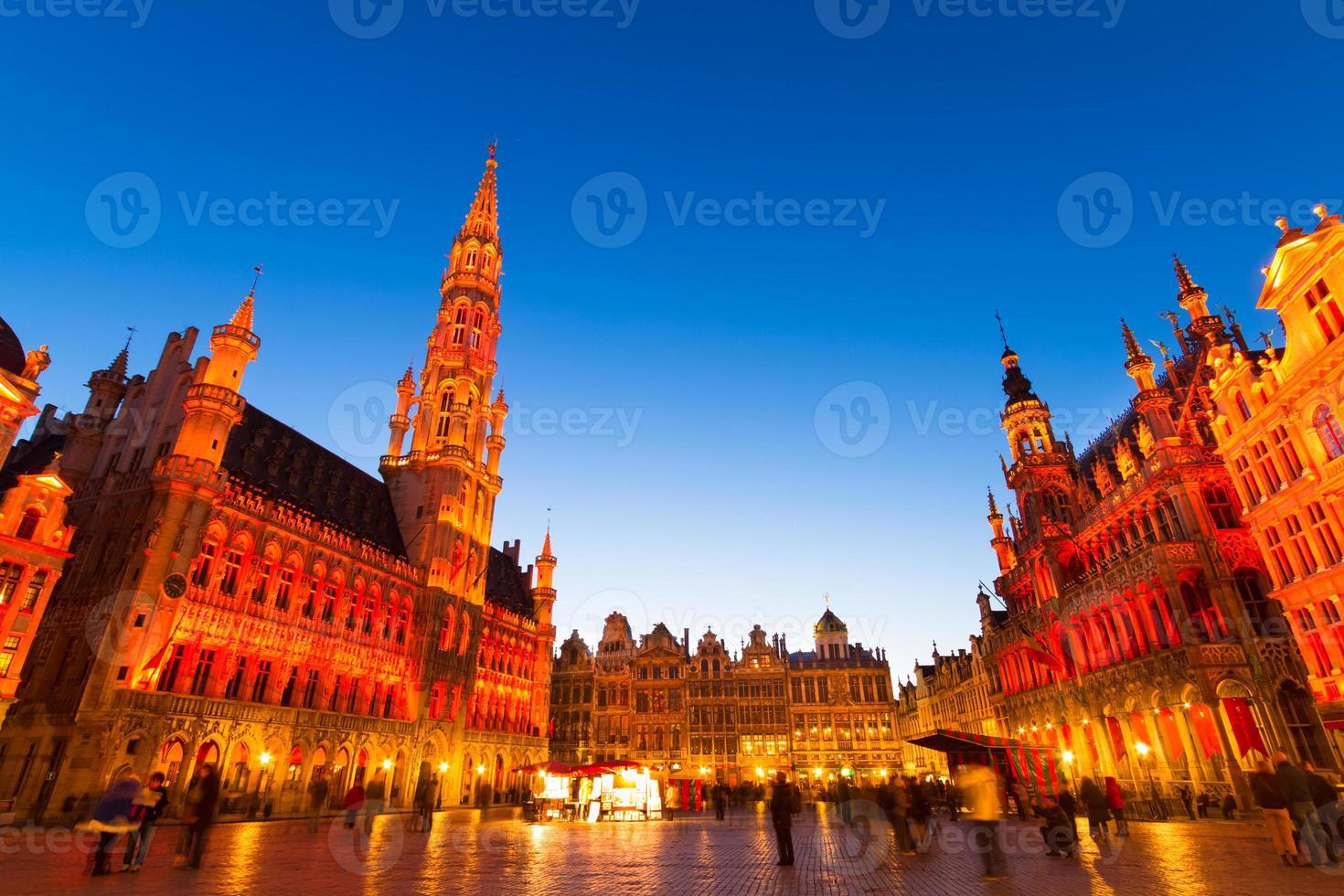grote markt, bruxelles, belgique, europe. photo