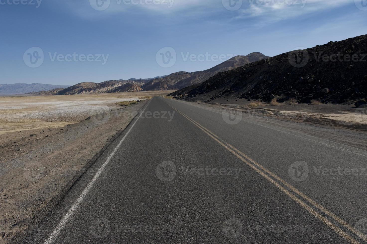 route du désert photo