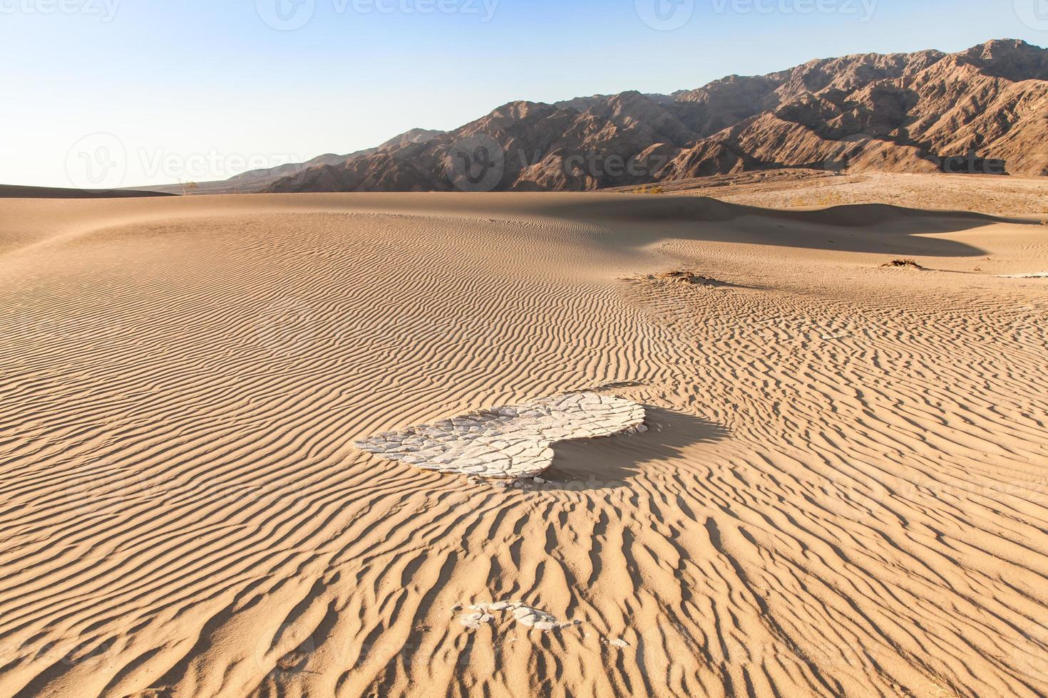 désert de la vallée de la mort photo