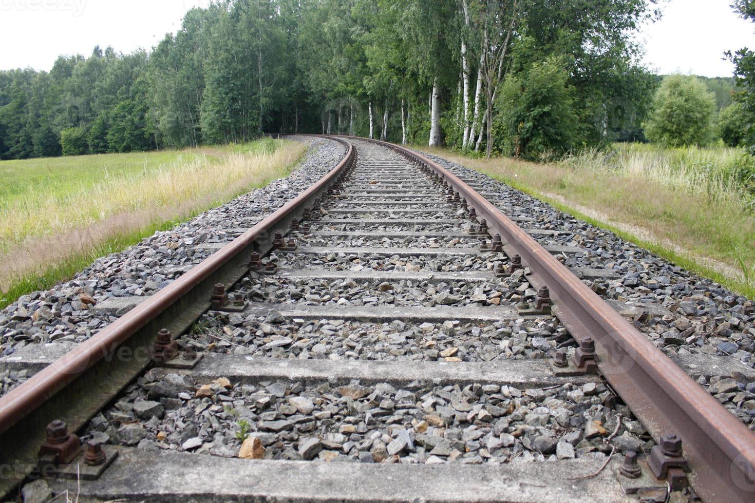 train rail chemin de fer fer acier transport trafic logistique photo