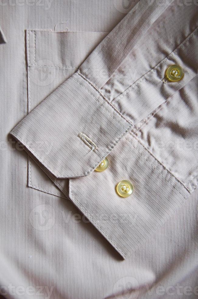 manche d'une chemise photo