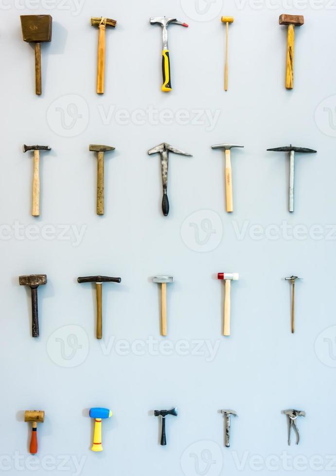 différents marteaux photo