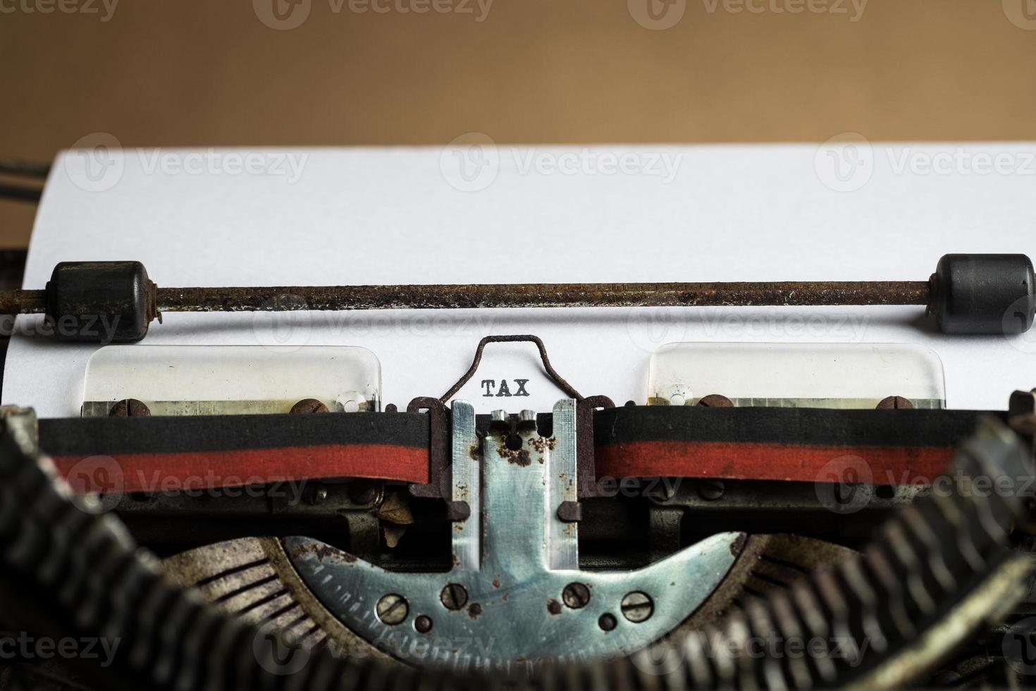 lettre d'impôt photo