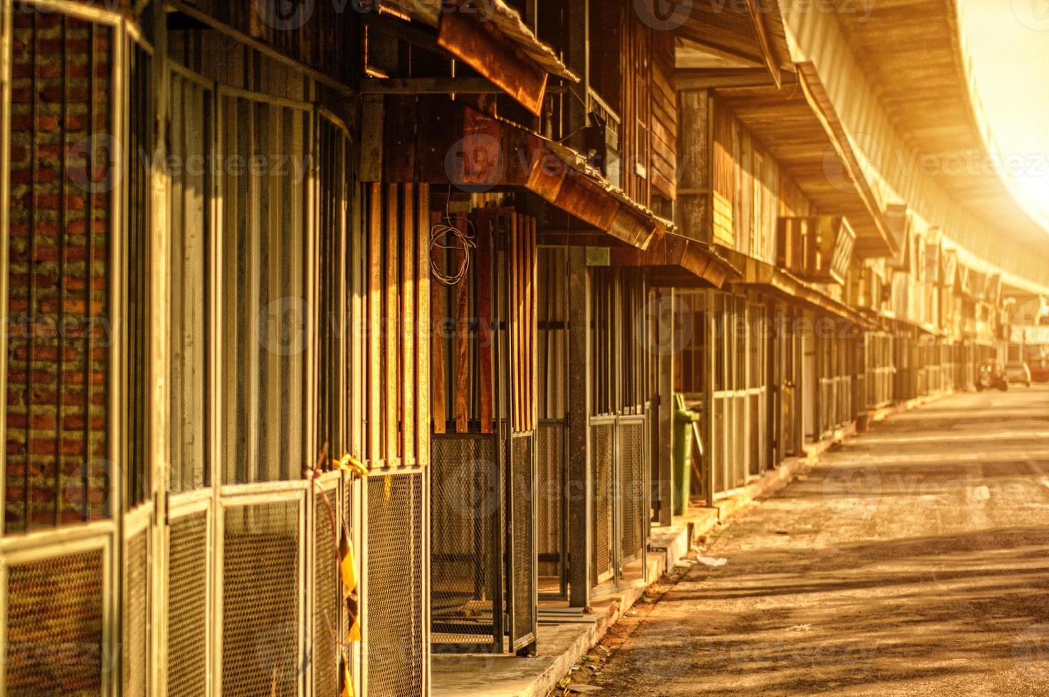 bâtiment vintage photo