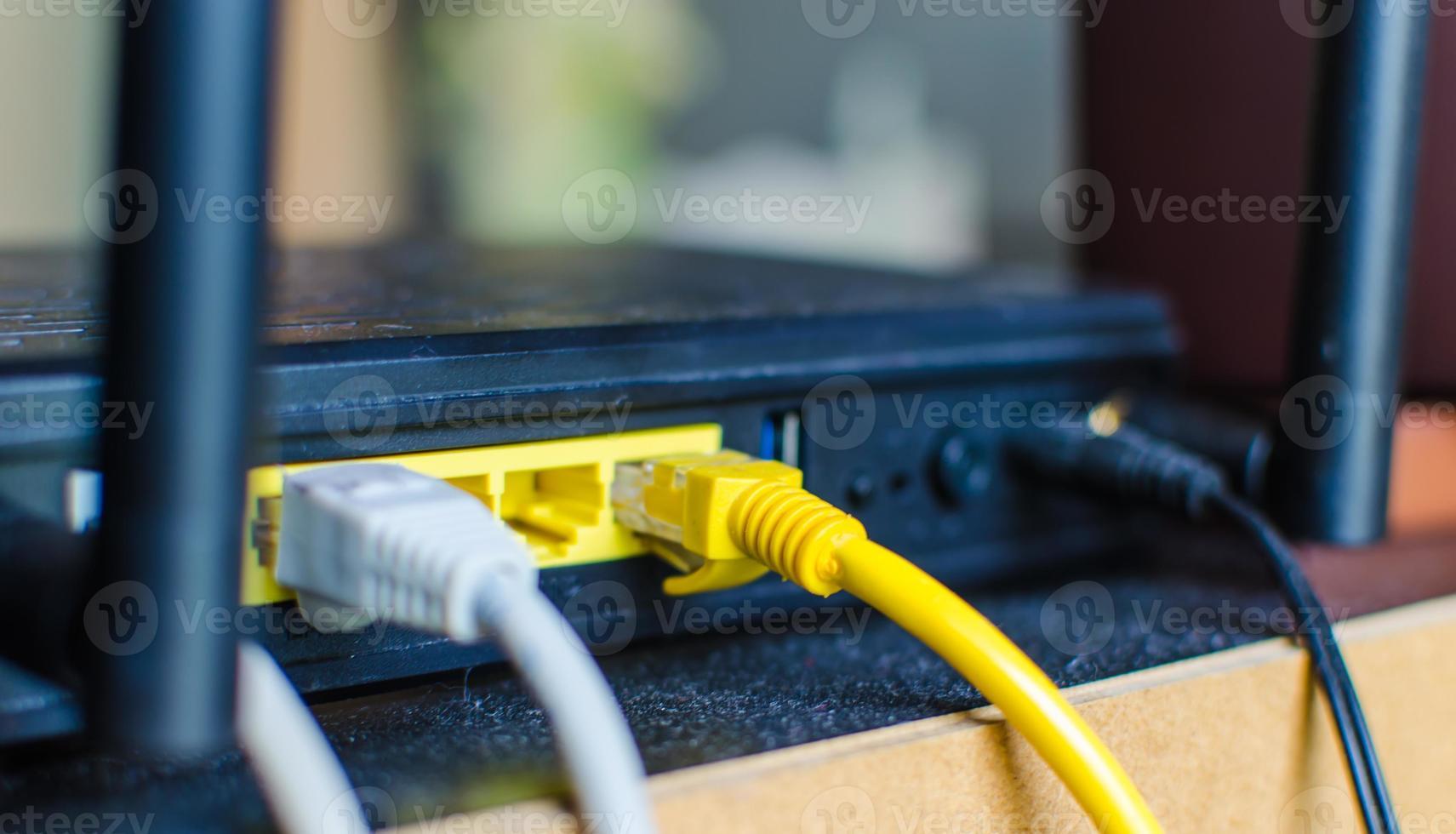 modem par cable. photo
